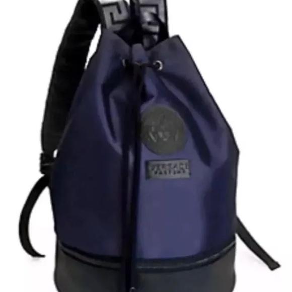 59d3868459e Versace Bags | Medusa Head Backpack Bookbag Nwt | Poshmark